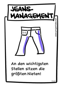 Jeans-Managment, Management by Jeans