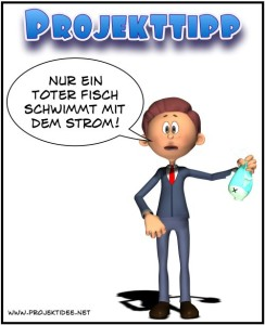 Projekttipp-Cartoon